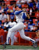 Robin Yount 1992 Action Fine Art Print