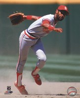 Ozzie Smith 1985 Action Fine Art Print