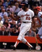 Frank Robinson 1970 World Series Action Fine Art Print
