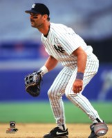 Don Mattingly 1995 Action Framed Print