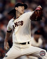 Tim Lincecum 2010 Action Fine Art Print