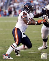 """Julius Peppers 2010 Action - 8"""" x 10"""""""