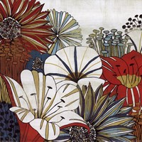"Contemporary Gardens I by Mo Mullan - 12"" x 12"" - $9.99"