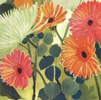 Tangerine Garden I Fine Art Print