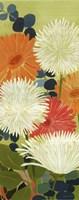 """Tangerine Garden II by Kathrine Lovell - 8"""" x 20"""""""
