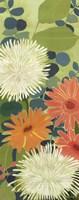 "Tangerine Garden III by Kathrine Lovell - 8"" x 20"""