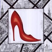 City Shoes I Framed Print