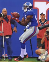 "Hakeem Nicks 2010 Action - 8"" x 10"", FulcrumGallery.com brand"