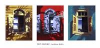 Caribbean Medley (triptych) Fine Art Print