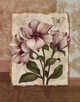 """Flower Trio II - mini by Pamela Gladding - 11"""" x 14"""""""