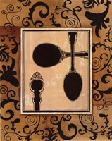 """Spoons by Gregory Gorham - 11"""" x 14"""", FulcrumGallery.com brand"""
