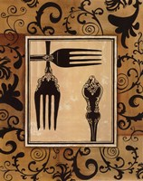 """11"""" x 14"""" Fork Art"""