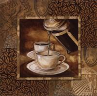 "Coffee III by Gregory Gorham - 12"" x 12"", FulcrumGallery.com brand"