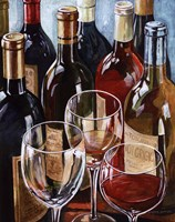 Wine Reflections I - mini Framed Print
