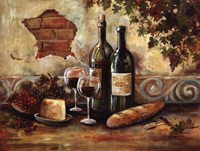 Bountiful Wine II Fine Art Print