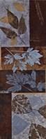 "Blue Fusion Panel II by Jeni Lee - 12"" x 36"""