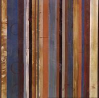 Stripes II - mini Framed Print
