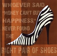 Zebra Shoe Fine Art Print