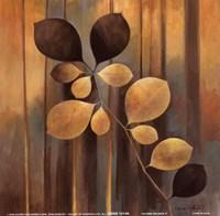 """Autumn Melange II by Elaine Vollherbst-Lane - 6"""" x 6"""""""