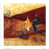 Rolling Home Together Fine Art Print