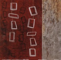 Dangling Geometric II Fine Art Print