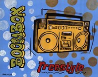"Boom Box by Tava Luv - 20"" x 16"""
