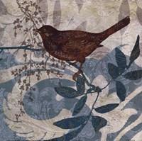 """Songbird II by Carol Robinson - 12"""" x 12"""""""