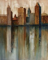 City View II Fine Art Print