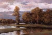 Winding River II Fine Art Print
