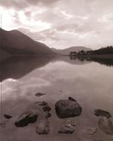 Serenity Lake II Framed Print