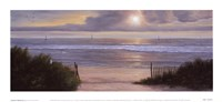 "Summer Moments II by Diane Romanello - 11"" x 5"""