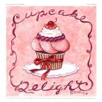 "9"" x 9"" Cupcake Pictures"