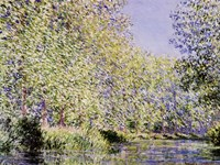 The Epte River near Giverny Fine Art Print