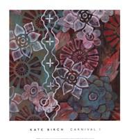 "CARNIVAL I by Kate Birch - 14"" x 15"", FulcrumGallery.com brand"