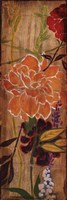 """Vivid Bouquet II by Liz Jardine - 12"""" x 36"""""""