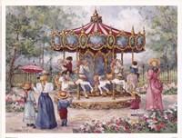 "Magical Horses by Barbara Mock - 8"" x 6"""