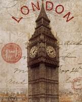 Letter from London Fine Art Print