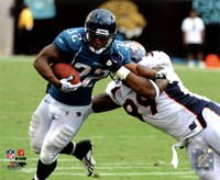 Maurice Jones-Drew 2010 Action Fine Art Print
