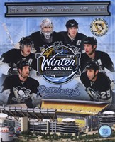 """Pittsburgh Penguins 2011 NHL Winter Classic Composite - 8"""" x 10"""""""