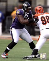 Michael Oher 2010 Action Fine Art Print