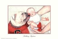 Bulldawg Baptism Fine Art Print