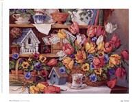 """Floral Treasures by Barbara Mock - 8"""" x 6"""""""