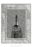 """Small Tour of New York II by Ethan Harper - 13"""" x 19"""""""