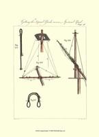 Nautical Details V Framed Print
