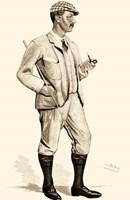 Vanity Fair Golfers I Fine Art Print