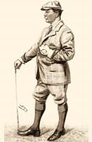 Vanity Fair Golfers III Fine Art Print