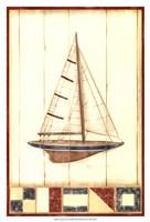 "Americana Yacht II by Ethan Harper - 13"" x 19"""