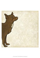 "Good Dog V by Chariklia Zarris - 13"" x 19"" - $12.99"