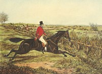 The English Hunt III Fine Art Print