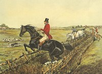 The English Hunt IV Fine Art Print